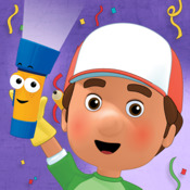 Handy Manny Flicker`s Flashcard Fiesta on iPad