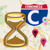 ChronicleMap: events & itinerary organizer with map and timeline historical events timeline