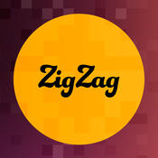 ZigZag Broken Words - drag group of chars to search the hidden words magic search words