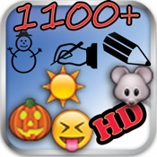 Emoji+Unicode HD Pro for iPhone 4 unicode icons hd special symbols