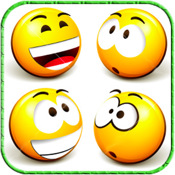 3D Emoticons+Emoji  for creative MMS,Facebook,Twitter, Email, IM!(FREE)