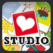 Greetings Studio (Personalized Greeting Card)