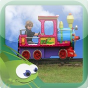 I Like Trains - Kids Books Series