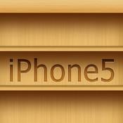 Bookshelf wallpaper for iPhone 5