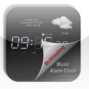 Multitasking Music Alarm Clock √ (MM Alarm) - with Weather automatic alarm