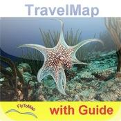 Curacao HD - Travel Map Navigator
