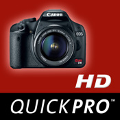 Canon Rebel T1i HD from QuickPro camera