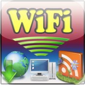 Wifi Download With File Sharing With PC & WiFi FlashDrive & Document Folder &Good Reader Share