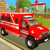 Ambulance Race & Rescue Adventure Sim 3D