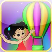 Colors Balloons Ride - Fun Colors Balloons Kids Simulator Advanture In The Sky 3D