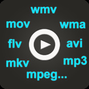 iVideo Player - Plays all formats: wmv, avi, mkv, mpeg, divx...with Web downloader & Media Manager mpeg4 to psp video