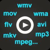 iVideo Player - Plays all formats: wmv, avi, mkv, mpeg, divx...with Web downloader & Media Manager