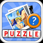Tile Puzzle : TOP Manga Characters ( Cartoon Pictures Sliding Puzzle )
