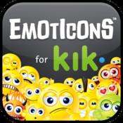 Emoticons for Kik emoticon messenger translator