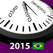 Brasil Calendário 2014-2015 AdFree