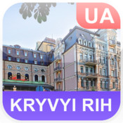 Kryvyi Rih, Ukraine Map