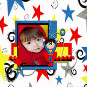 Super Kids Photo Frames super football clash