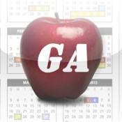 Georgia School Calendars giant countdown calendars