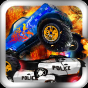 COPS Vs Monster Trucks by Top Free Games Factory
