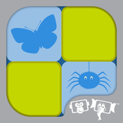 Kids Memory Match : Insects