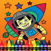 Rockets Coloring Book for Kid Games