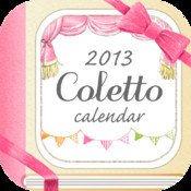 Coletto Calendar - cute notebook application where you can organize your journal, photos and notes
