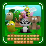 Find Words with Animals (friendly hangman)
