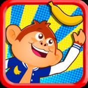 Monkey Jump - My Little Happy Preschool Baby Friends