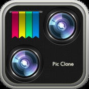 Pic Clone - split camera, image blender and effects for cloning fun clone yourself split