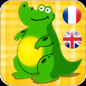 French - English Animals And Tools for Babies Free,Kids learn the world of cute animals by Touching Images and Listen to the Sounds of Animal or Tool