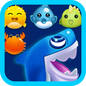 Shark Dash Game - A fun & addictive puzzle matching game usa dash