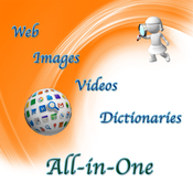 All-in-One (Search in Web, Images, Videos and Dictionaries) magic search