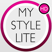 My Style Lite - Personal fashion stylist to design your new look including clothes, hairstyle, jewelry and nails.