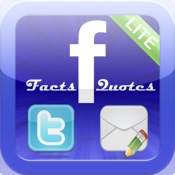 Facts `n Quotes Lite for Facebook, Twitter and Email