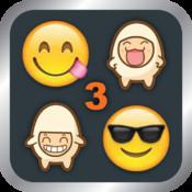 Emoji 3 Emoticons - Emoji Keyboard ( Support WhatsApp, WeChat, SMS & iMessage )