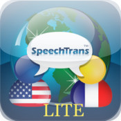 SpeechTrans Lite French English Translator with Voice Recognition Powered by Nuance maker of Dragon Naturally Speaking
