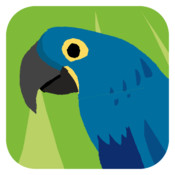 Animal Colours - Blue (Interactive animal flashcards for babies and young kids) virtual animal