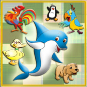 Animaled - Animal Swapping Puzzle Match Game for kids HD memory swapping