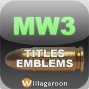 Callsigns for MW3 - Titles & Emblems