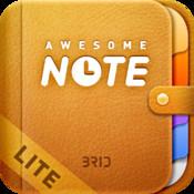 Awesome Note Lite (+To-do/Calendar/Evernote)