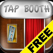 Tap Booth for FREE - Props & Filters for Photo Booth pictures!