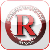 RPost Registered Email Services - iPad edition cost plus contract