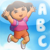 Dora's Skywriting ABC's (a preschool learning game by Nickelodeon)