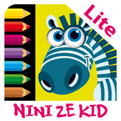 Color Jungle Lite - Coloring exercises for kids