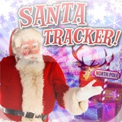 SANTA TRACKER: Countdown & Journey GPS Tracker!
