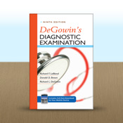 DeGowin`s Diagnostic Examination, Ninth Edition by Richard F. LeBlond