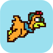 Flappy Chicken Pilot - New Adventure of Flying Tap And Flap Your Wings Pixel Style of A Tiny Bird