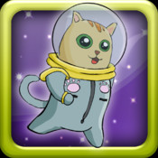 Astro Cat Jump Space Game - Free Version