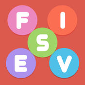 Fives - Best Free Word Game with Unique Twist 360 unique training