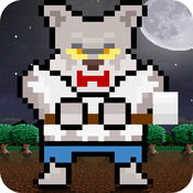 Timber Wolf - Pixel Halloween WereWolf Edition